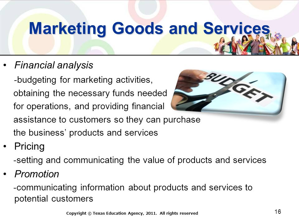 Marketing Goods and Services