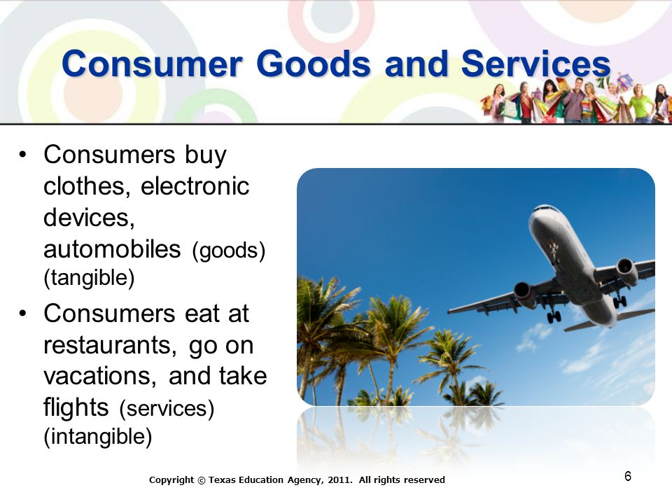 Consumer Goods and Services