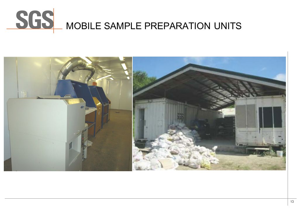 Mobile sample preparation units