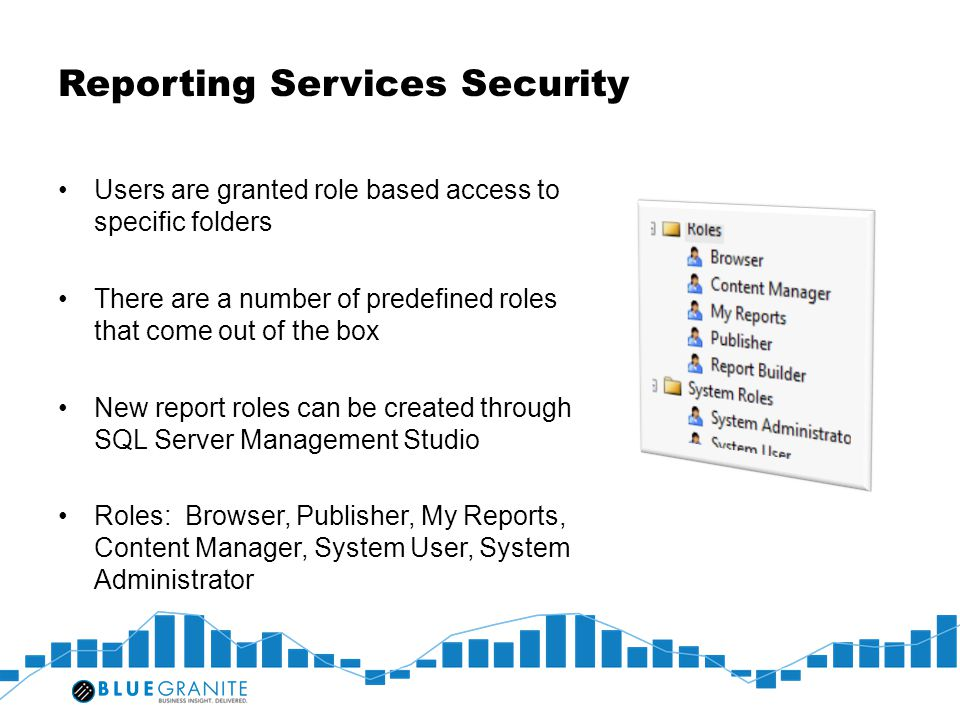 Reporting Services Security