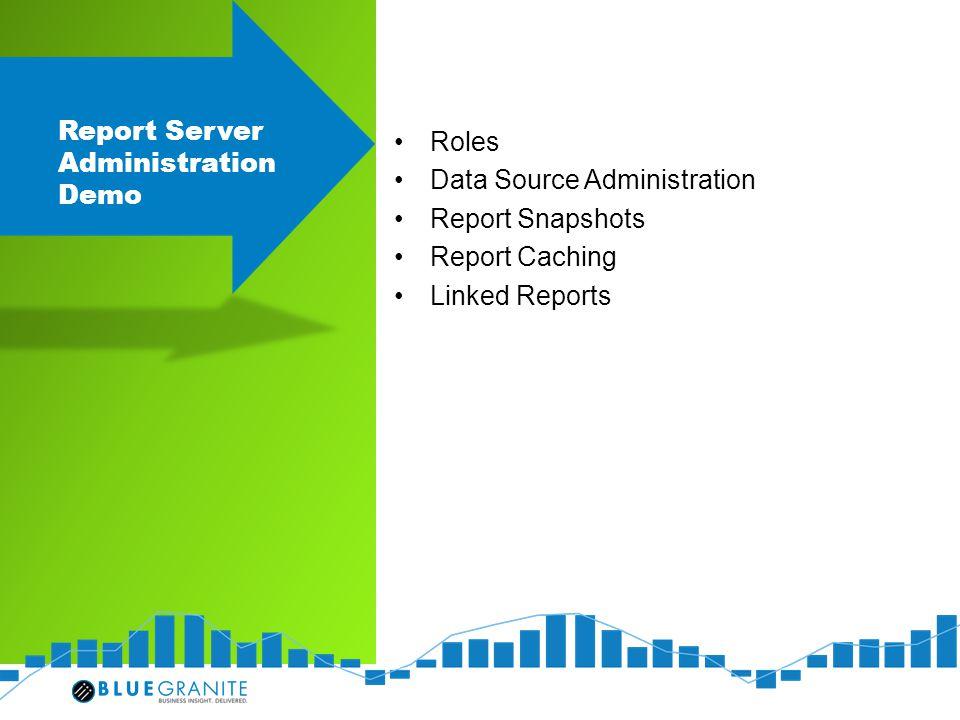 Report Server Administration Demo
