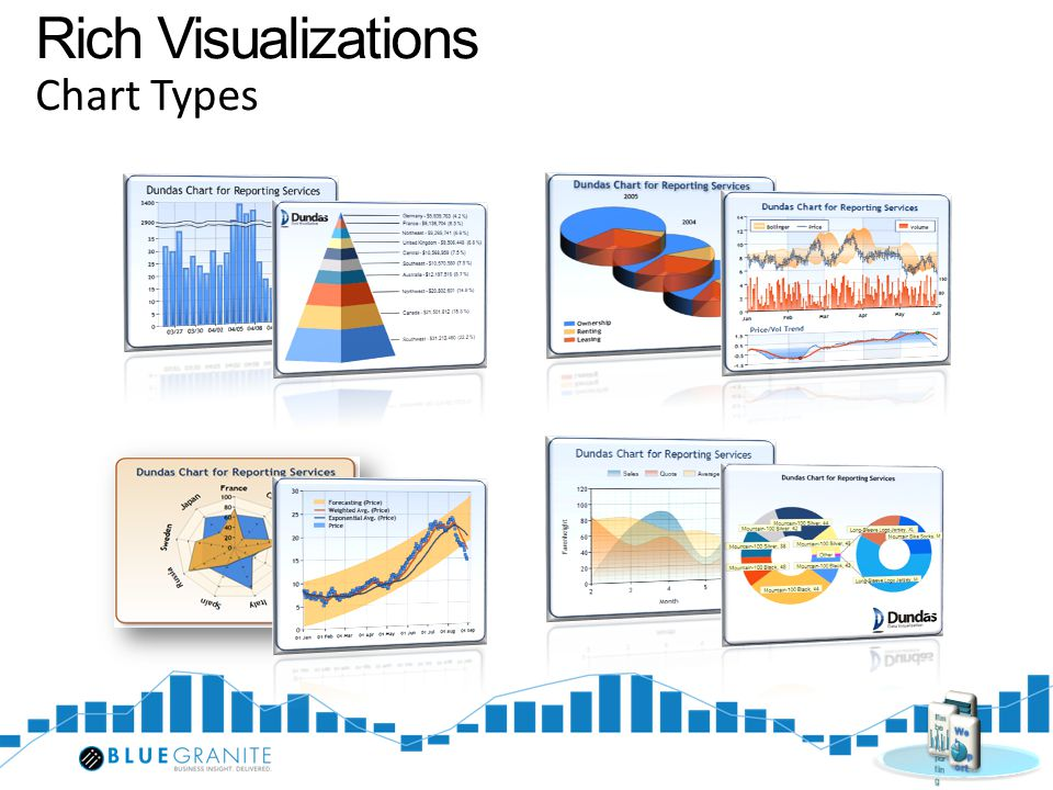Rich Visualizations Chart Types Embed Reporting Web Report