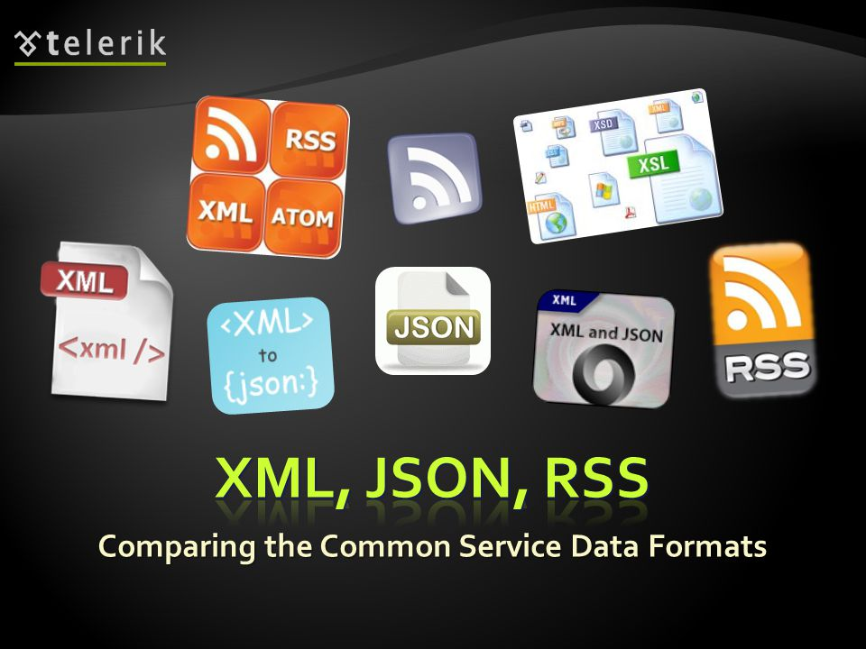 Comparing the Common Service Data Formats