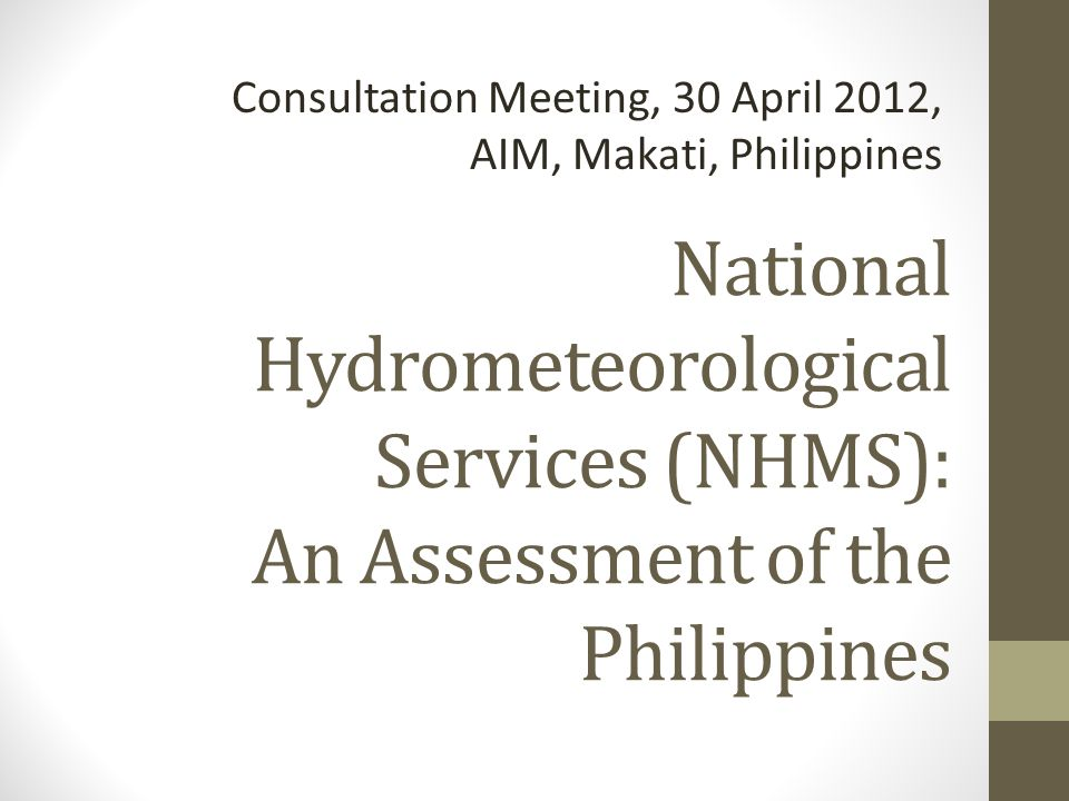Consultation Meeting, 30 April 2012, AIM, Makati, Philippines