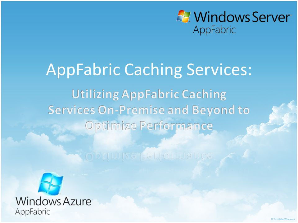 AppFabric Caching Services: