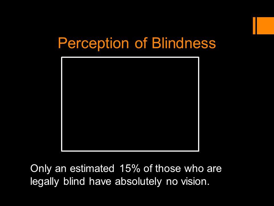 Perception of Blindness