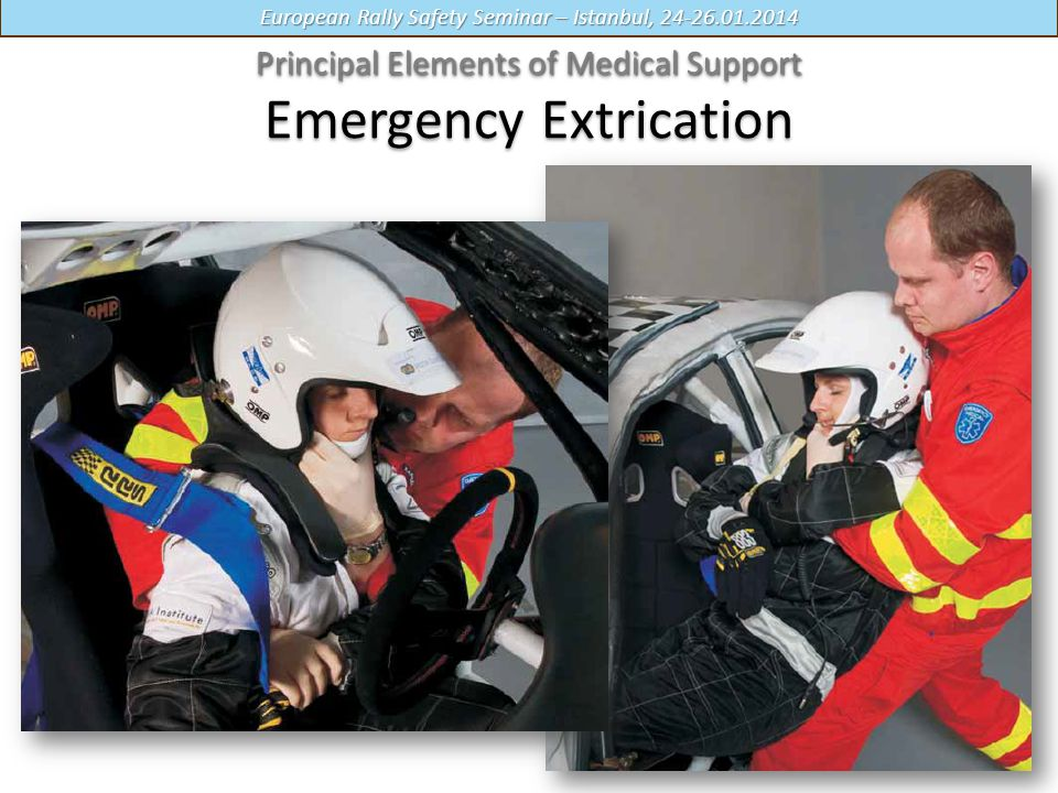 Principal Elements of Medical Support Emergency Extrication