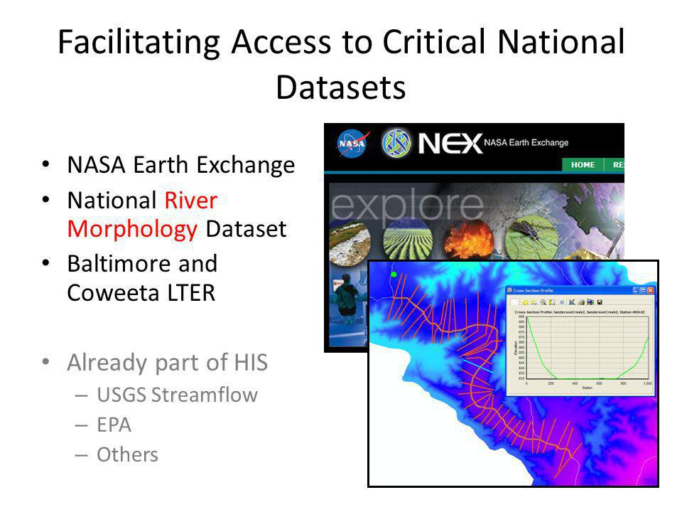 Facilitating Access to Critical National Datasets