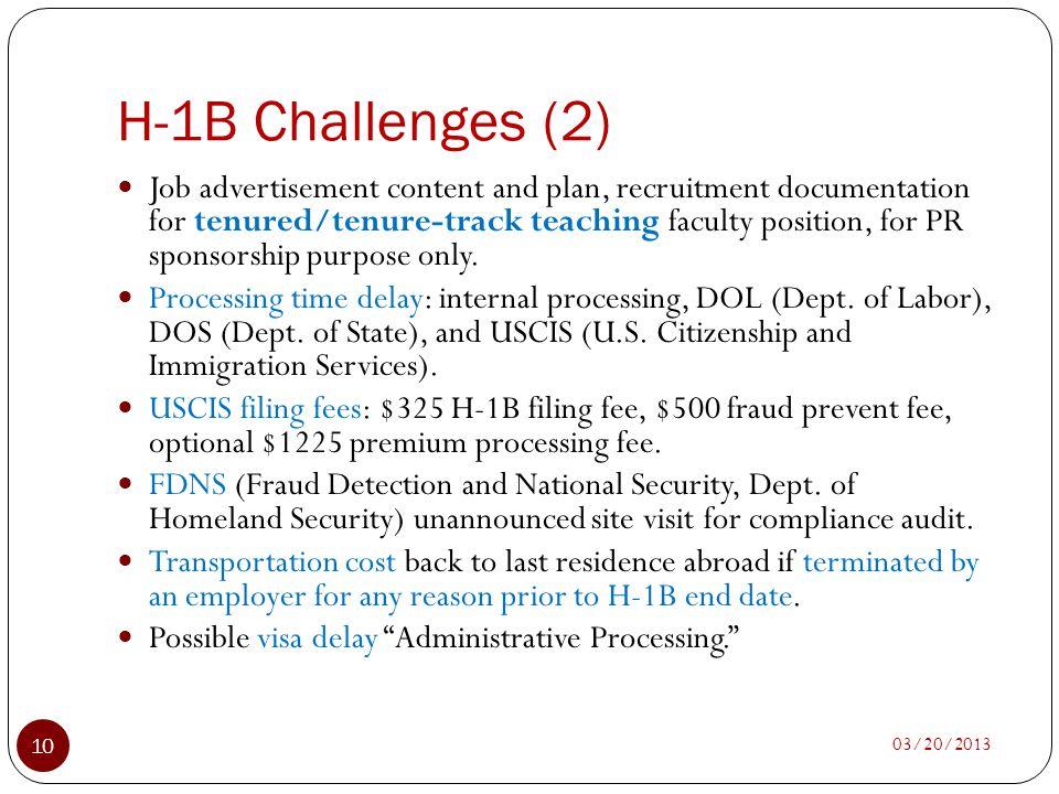 H-1B Challenges (2)