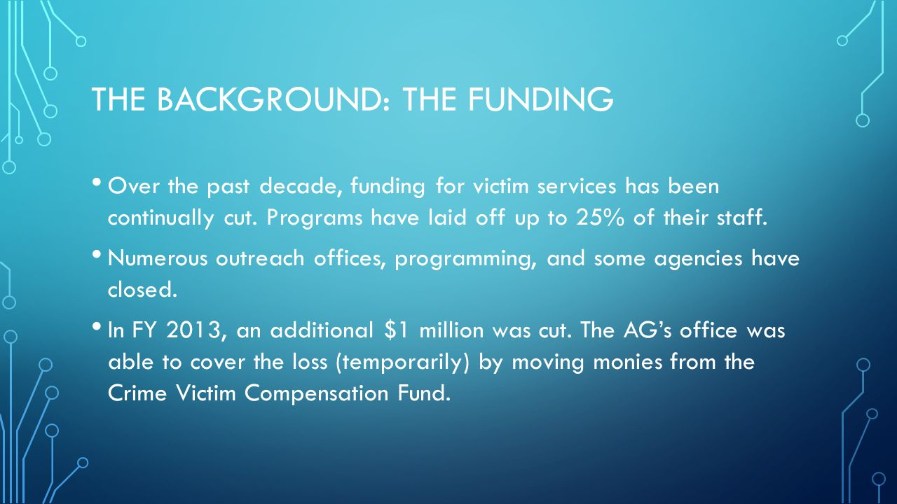The Background: The Funding