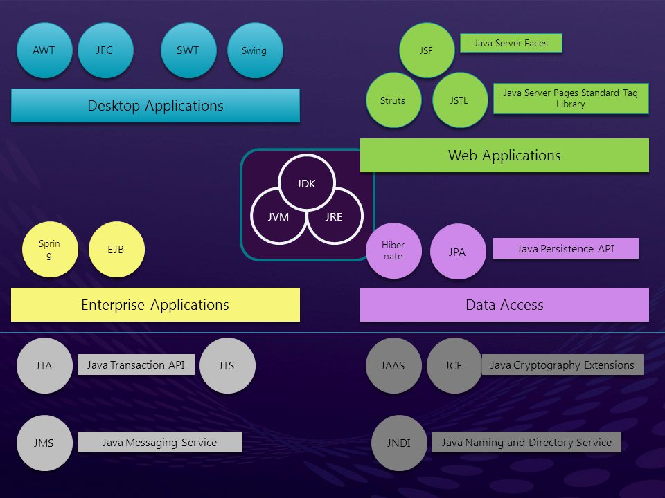 Enterprise Applications Data Access