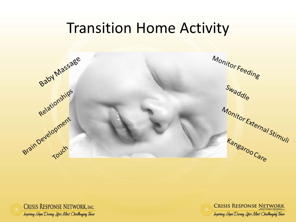 Transition Home Activity