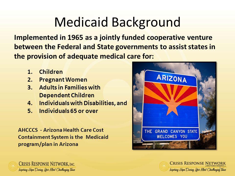 Medicaid Background