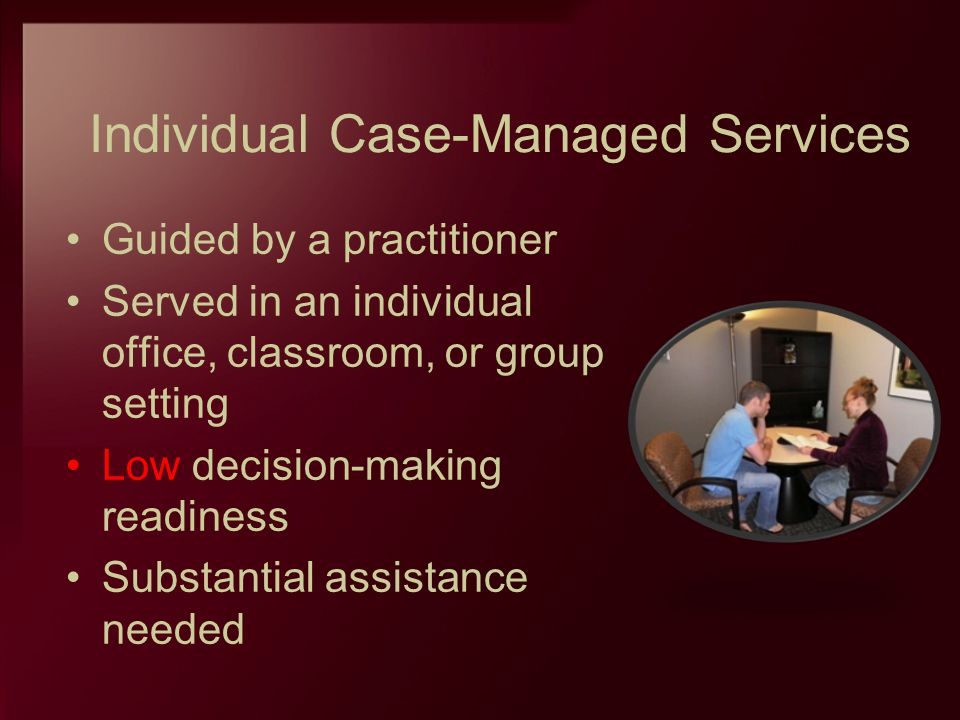Individual Case-Managed Services