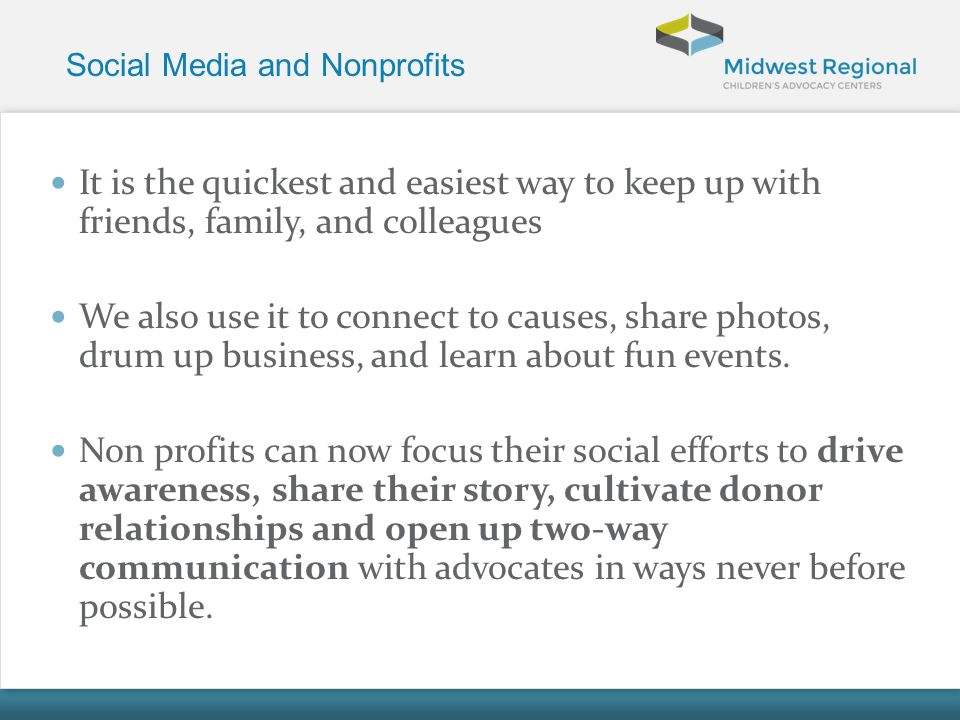 Social Media and Nonprofits