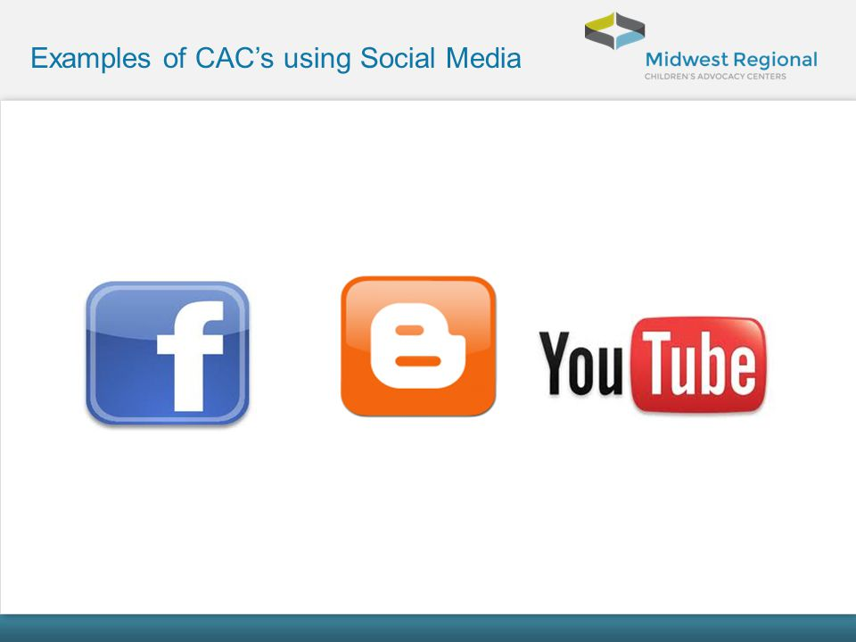 Examples of CAC's using Social Media