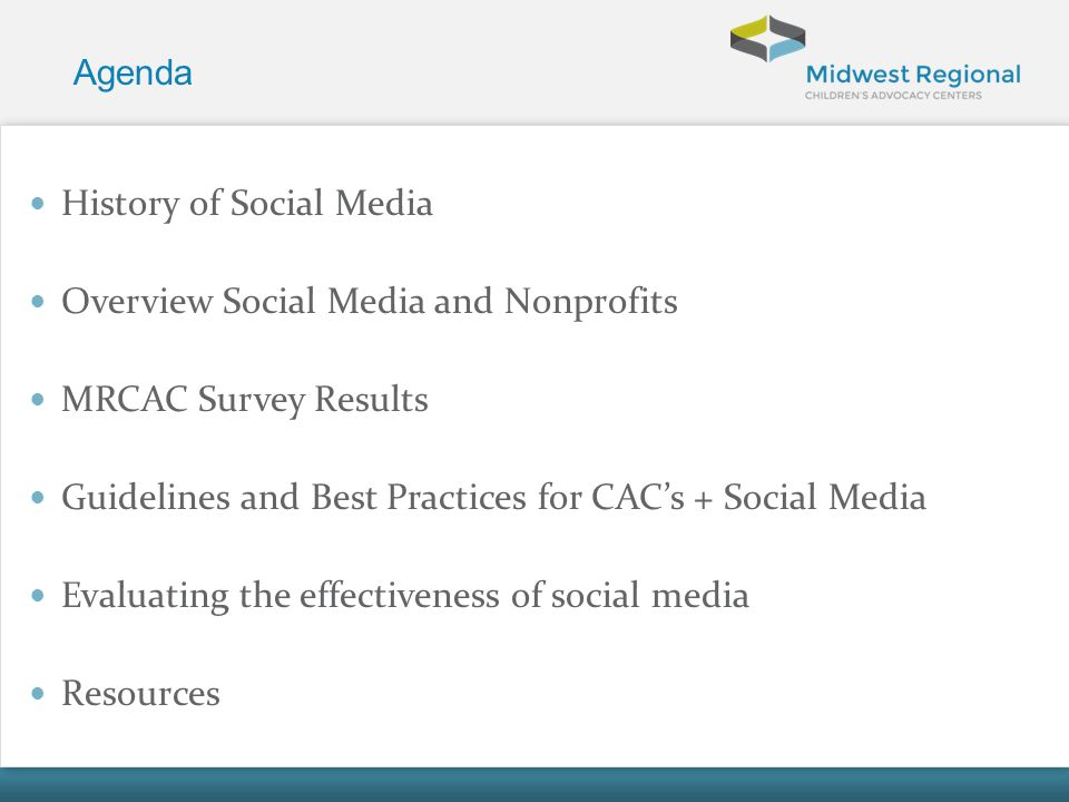 History of Social Media Overview Social Media and Nonprofits