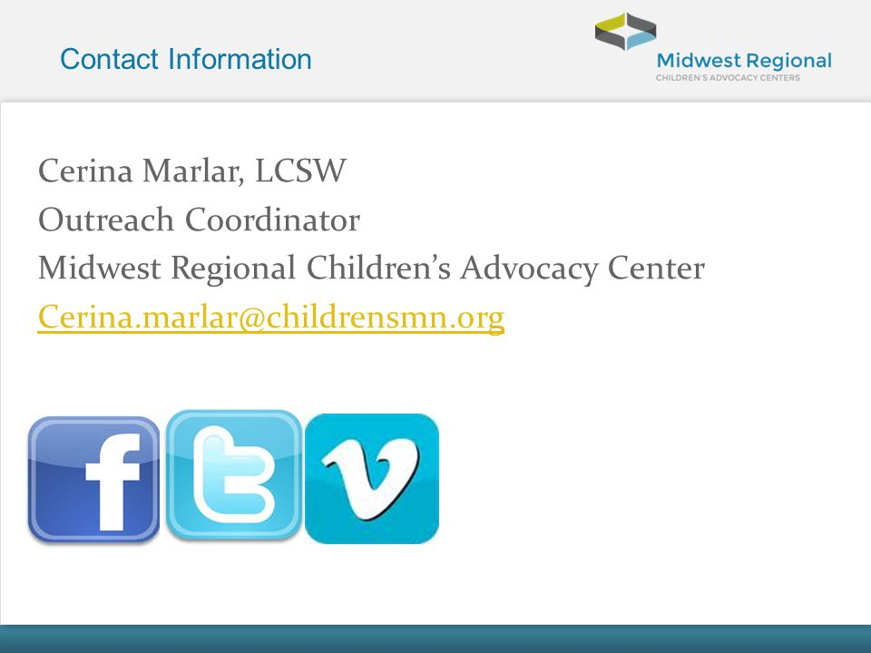 Midwest Regional Children's Advocacy Center