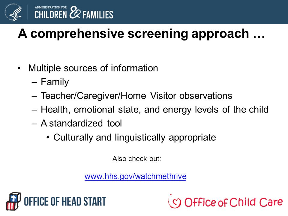A comprehensive screening approach …