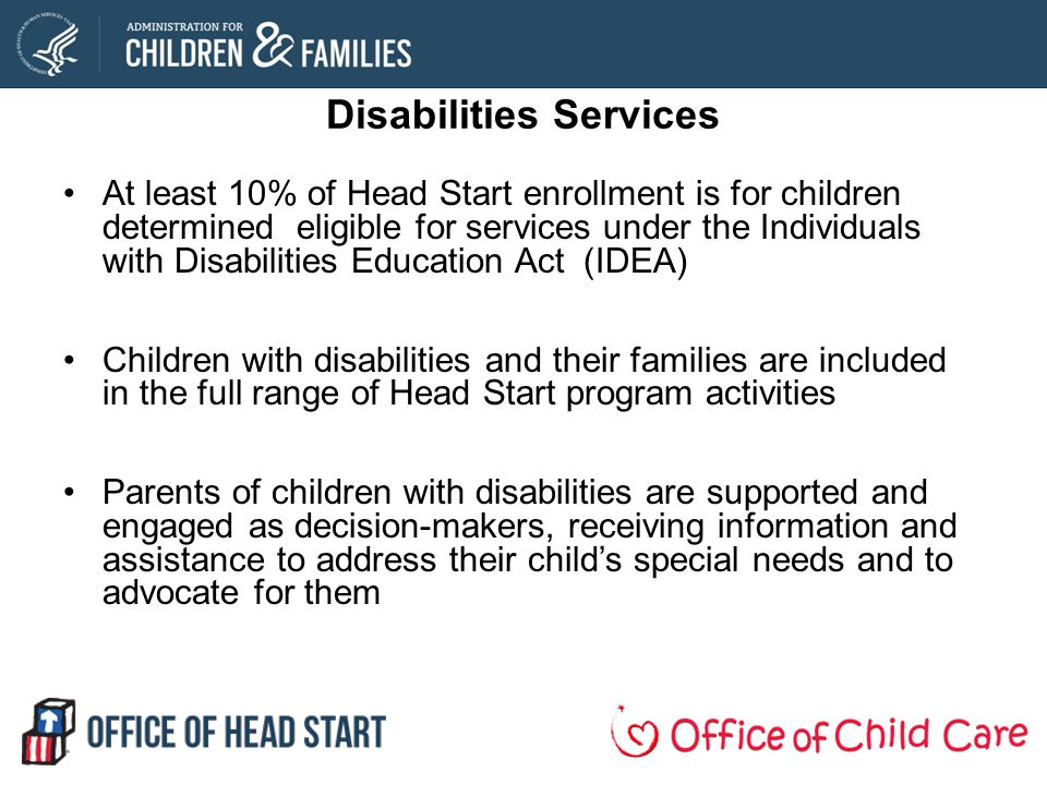 Disabilities Services