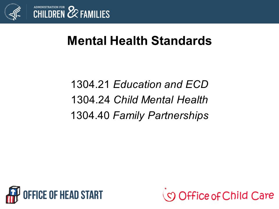 Mental Health Standards