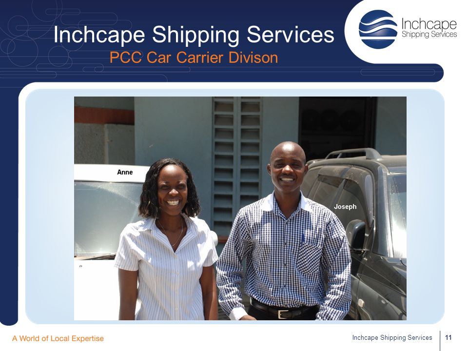 Inchcape Shipping Services PCC Car Carrier Divison