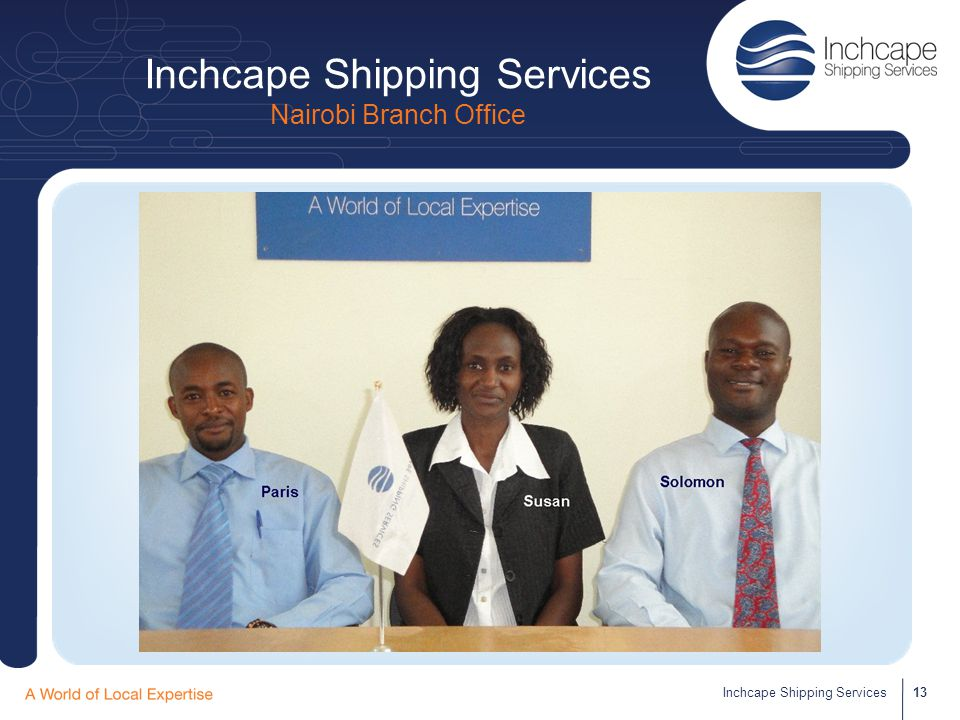 Inchcape Shipping Services Nairobi Branch Office