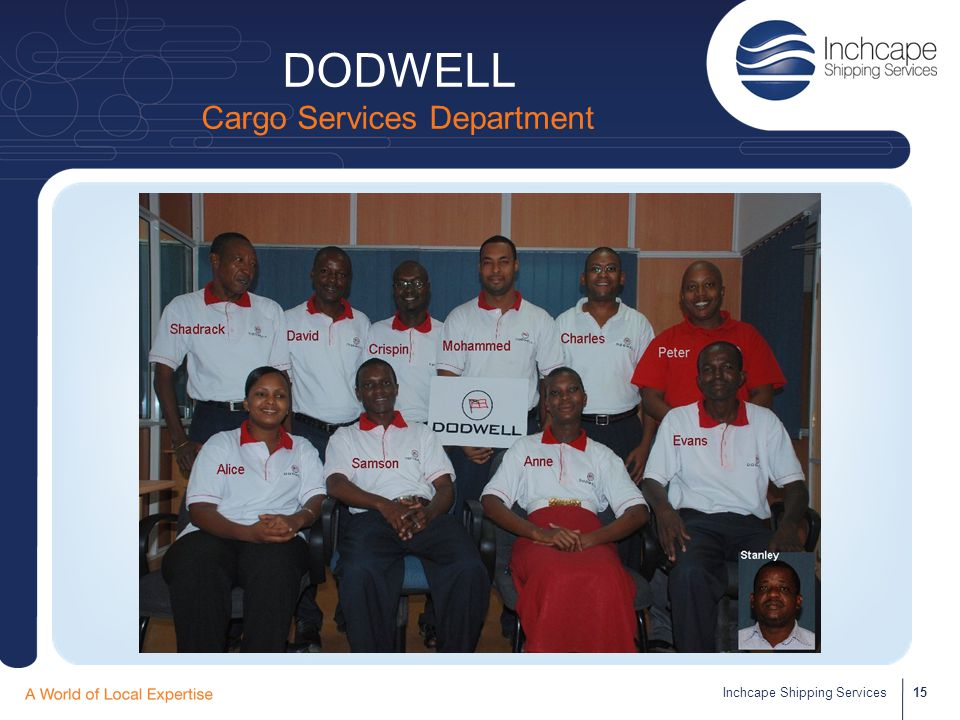 DODWELL Cargo Services Department
