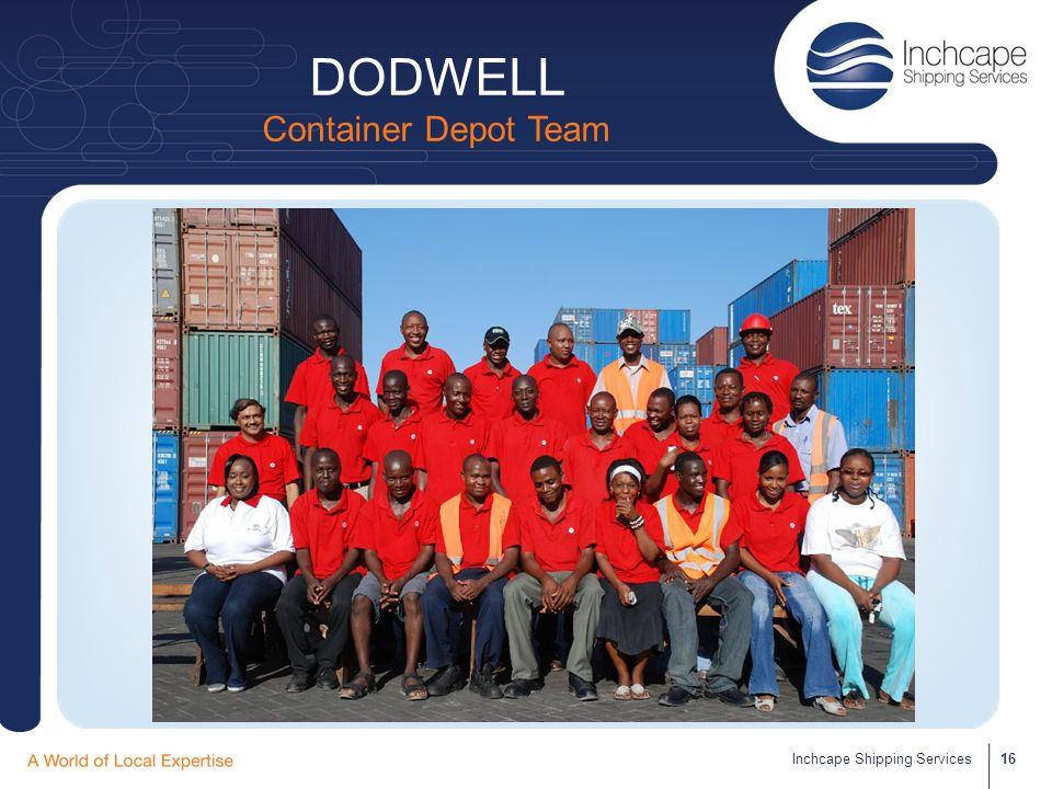 DODWELL Container Depot Team