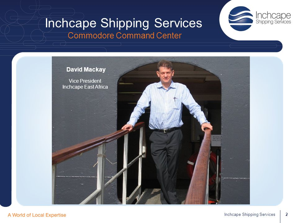 Inchcape Shipping Services Commodore Command Center