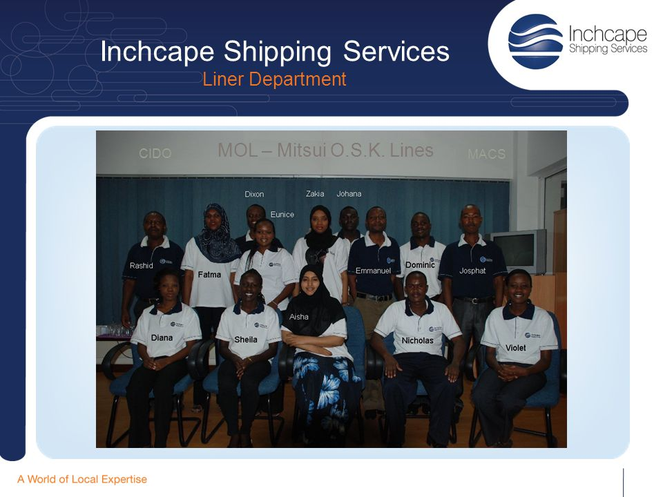 Inchcape Shipping Services Liner Department