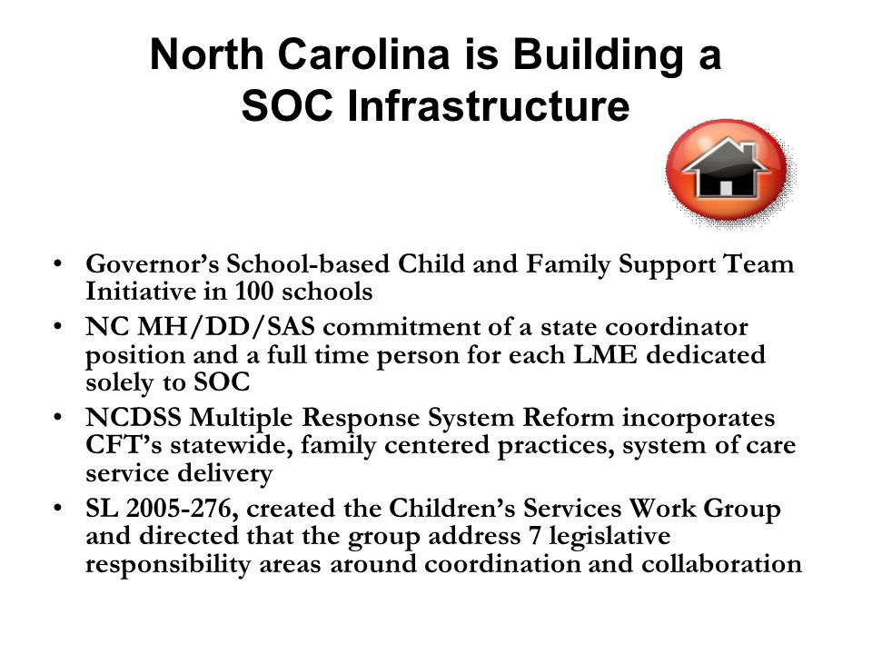 North Carolina is Building a SOC Infrastructure