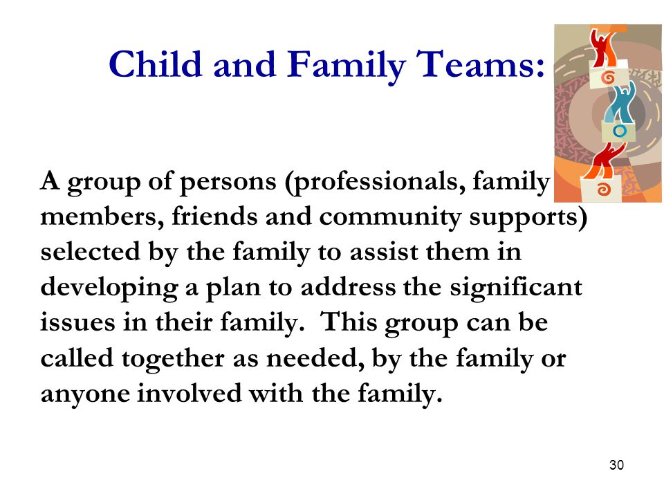 Child and Family Teams: