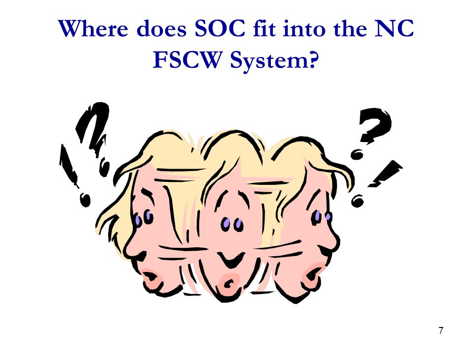 Where does SOC fit into the NC FSCW System