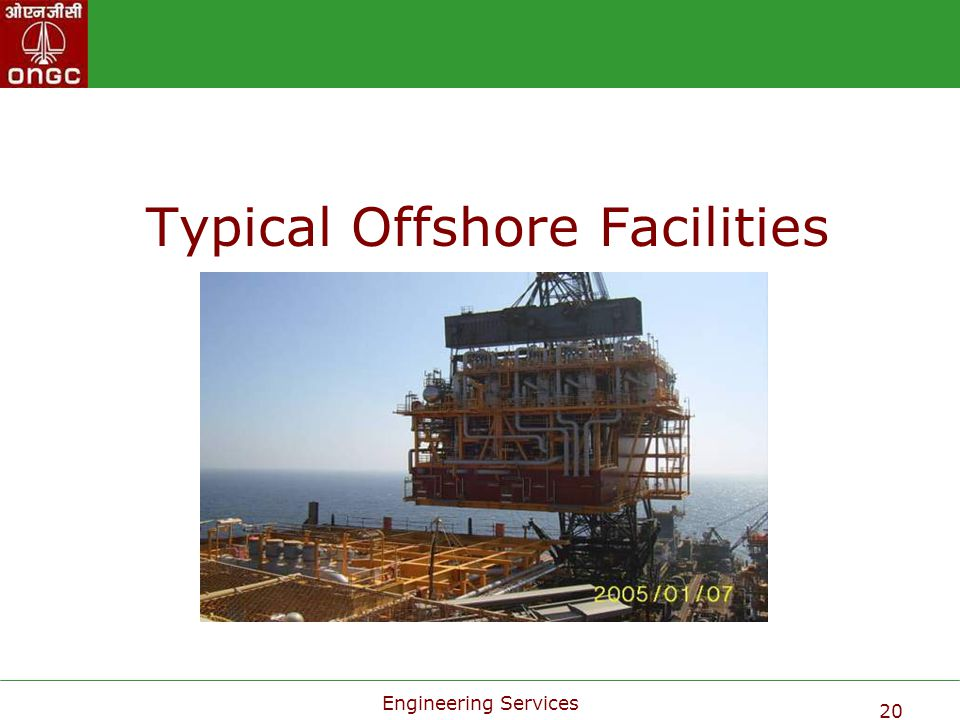 Typical Offshore Facilities