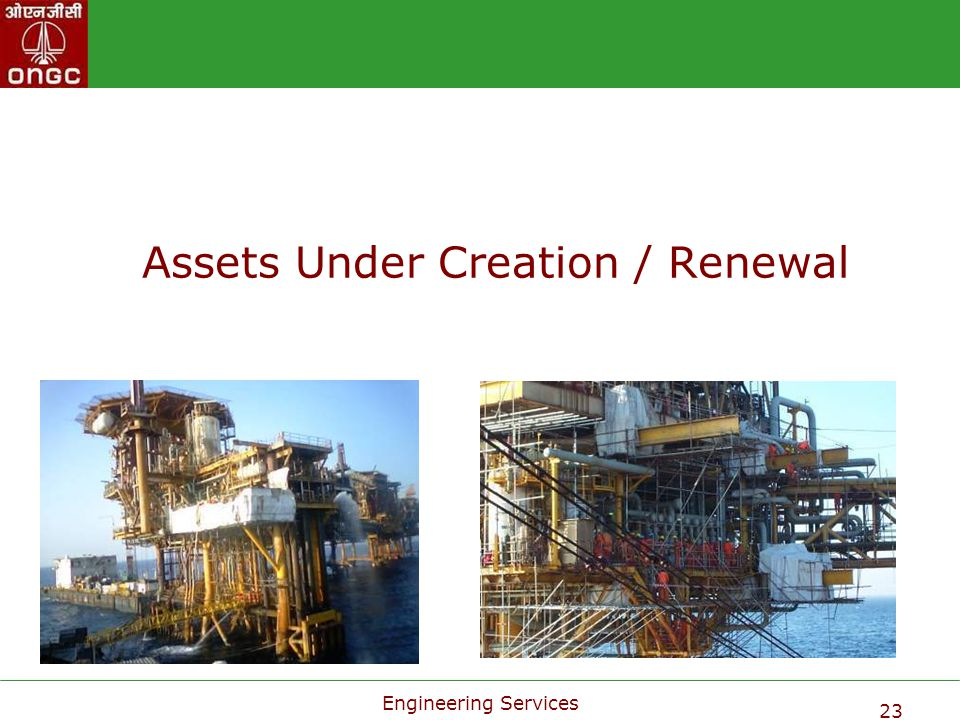 Assets Under Creation / Renewal