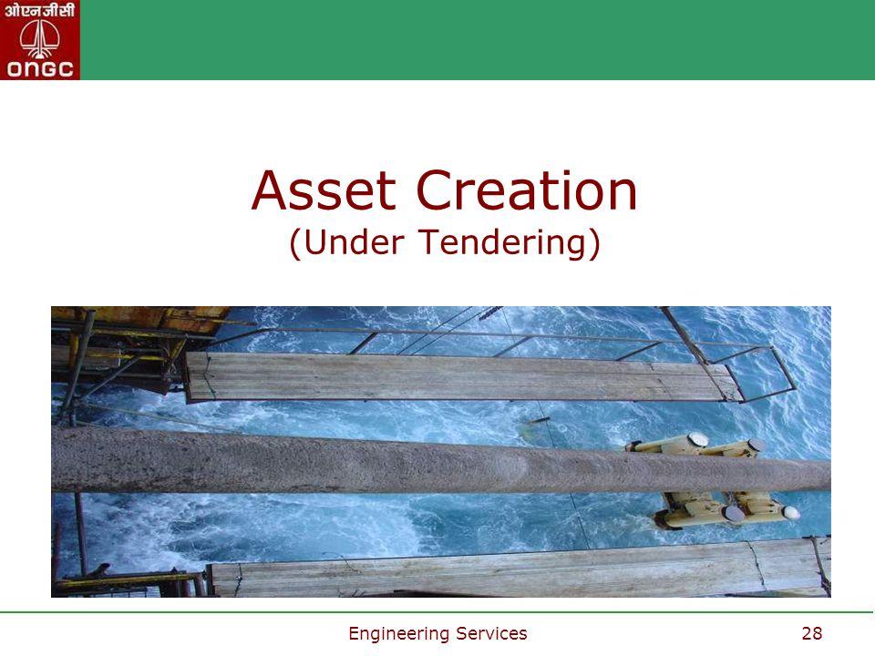 Asset Creation (Under Tendering)