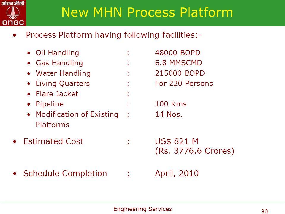 New MHN Process Platform