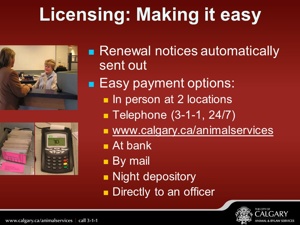 Licensing: Making it easy