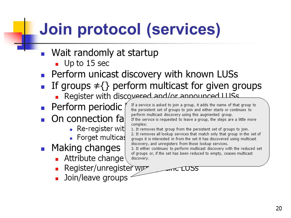 Join protocol (services)