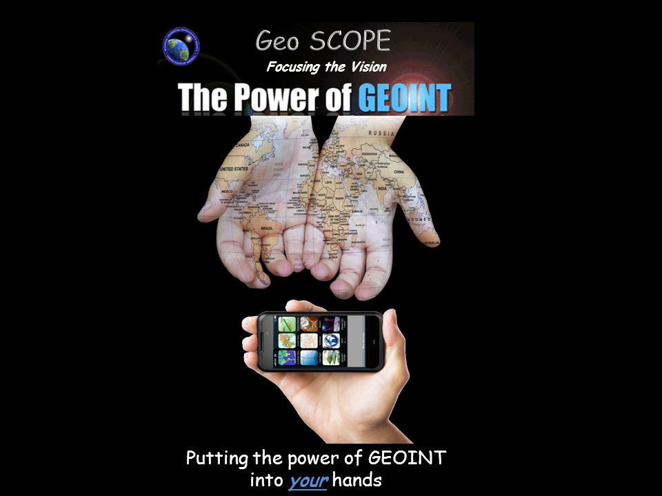 Putting the power of GEOINT