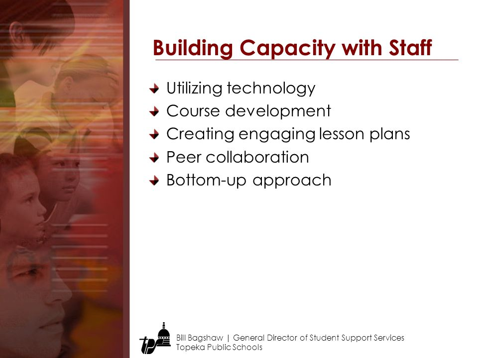 Building Capacity with Staff