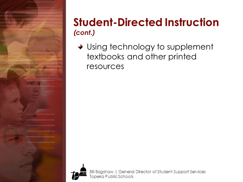 Student-Directed Instruction (cont.)