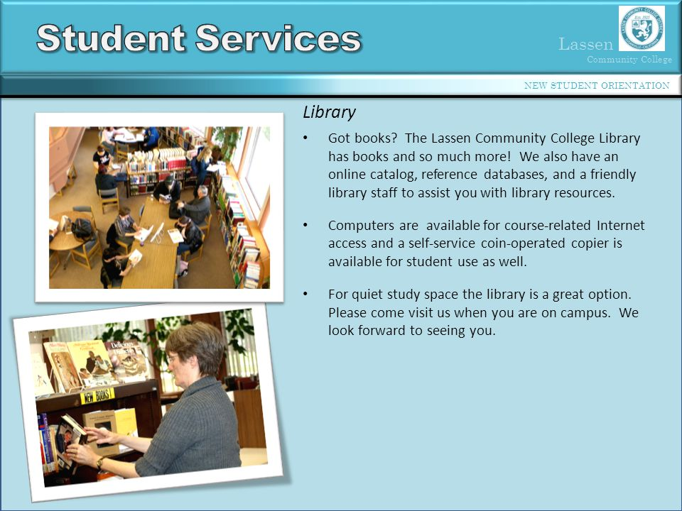 Student Services Library