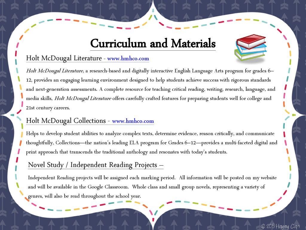 6th Grade English Language Arts - ppt download