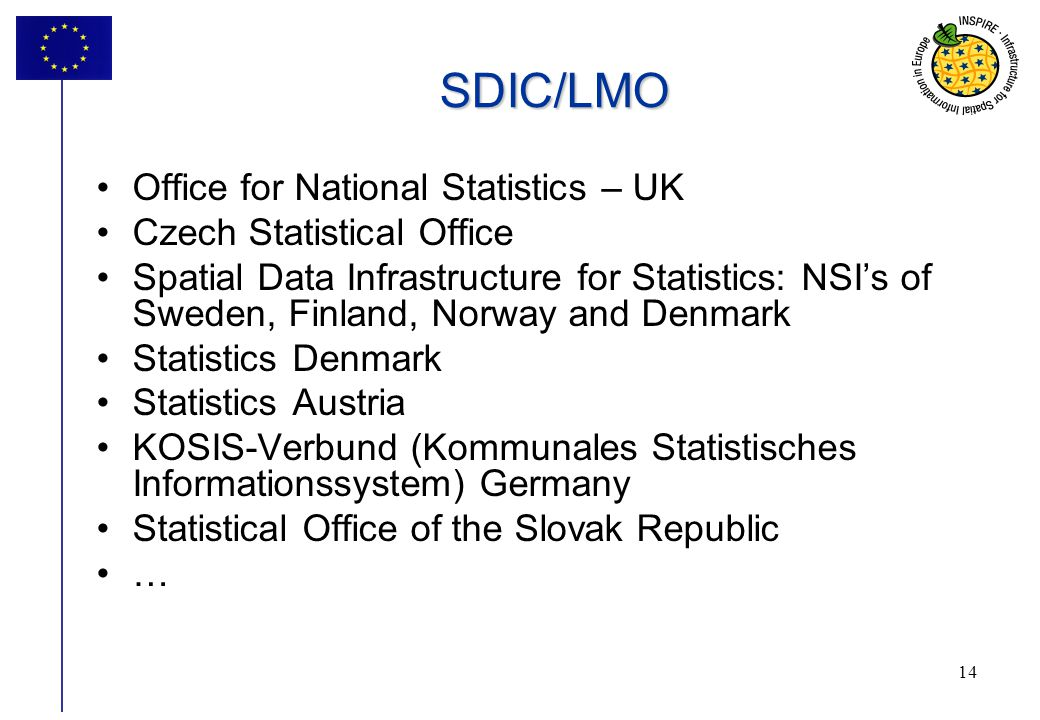 SDIC/LMO Office for National Statistics – UK Czech Statistical Office