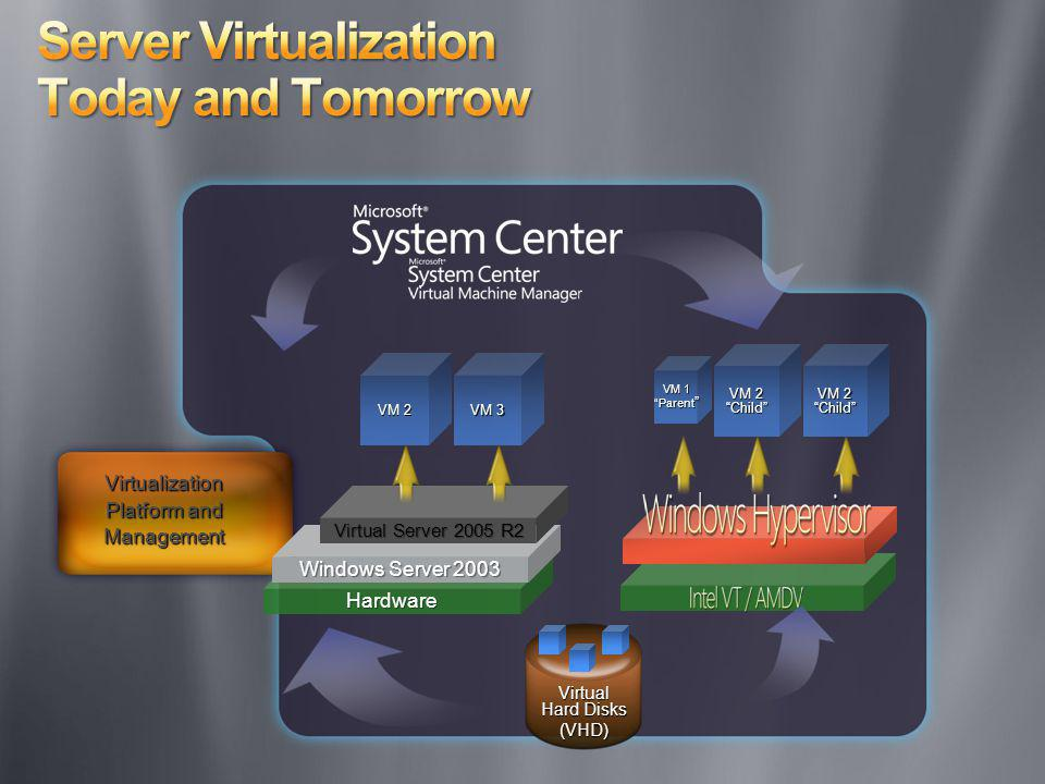 Server Virtualization Today and Tomorrow