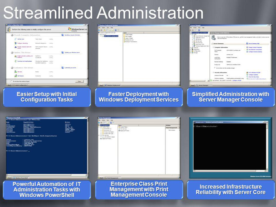 Streamlined Administration
