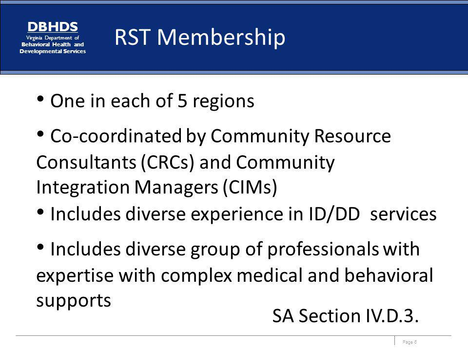 Includes diverse experience in ID/DD services