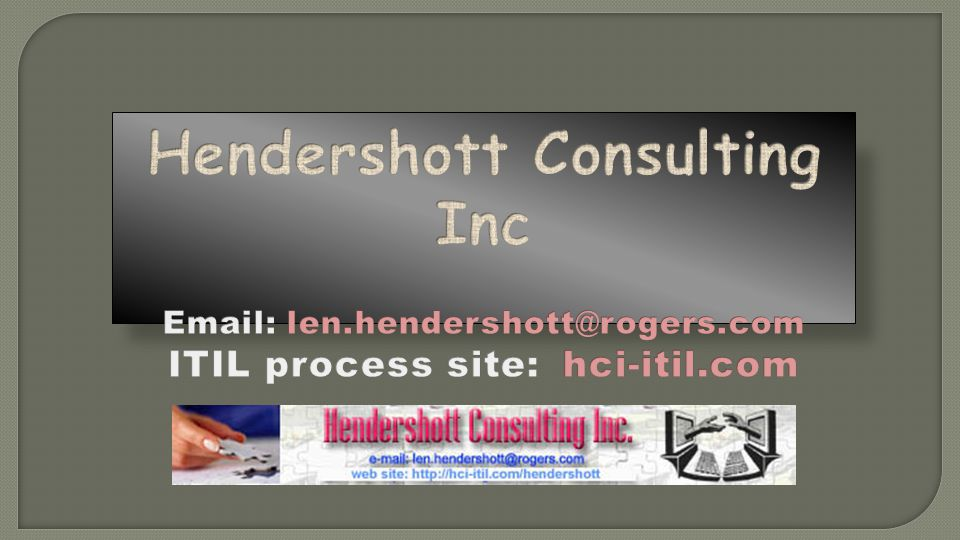 Hendershott Consulting Inc